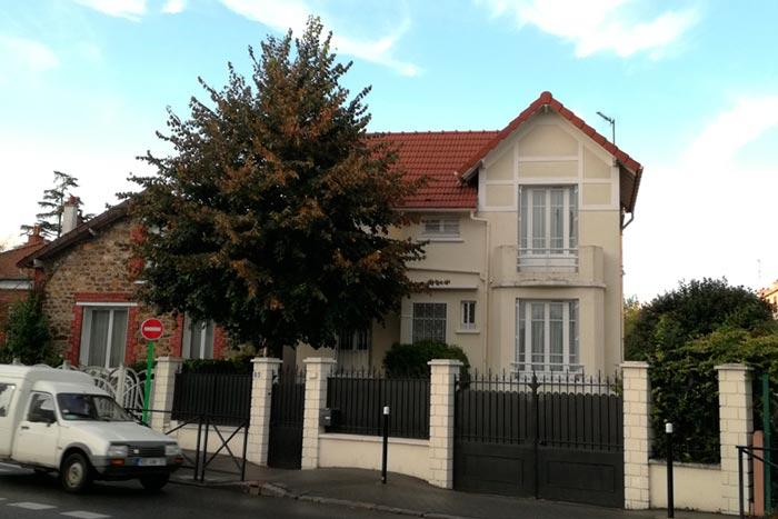 Casa en Saint Denis Donde vivió Juan Chope de ChopeStudio