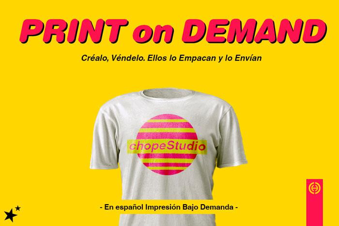 Qué es Print On Demand