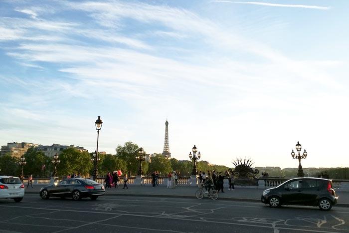 Una tarde en París con vista a la torre eiffel en los que trabaje en paris sin hablar frances