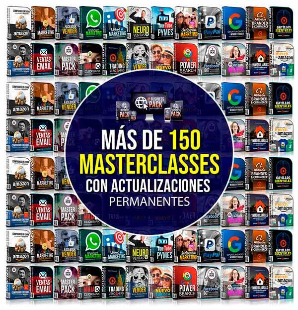 Master classes de eBusiness y del MEGA PACK de SEMINARIOS ONLINE