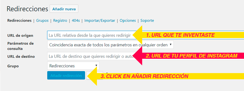 Cómo utilizar Redirection Plugin de WordPress